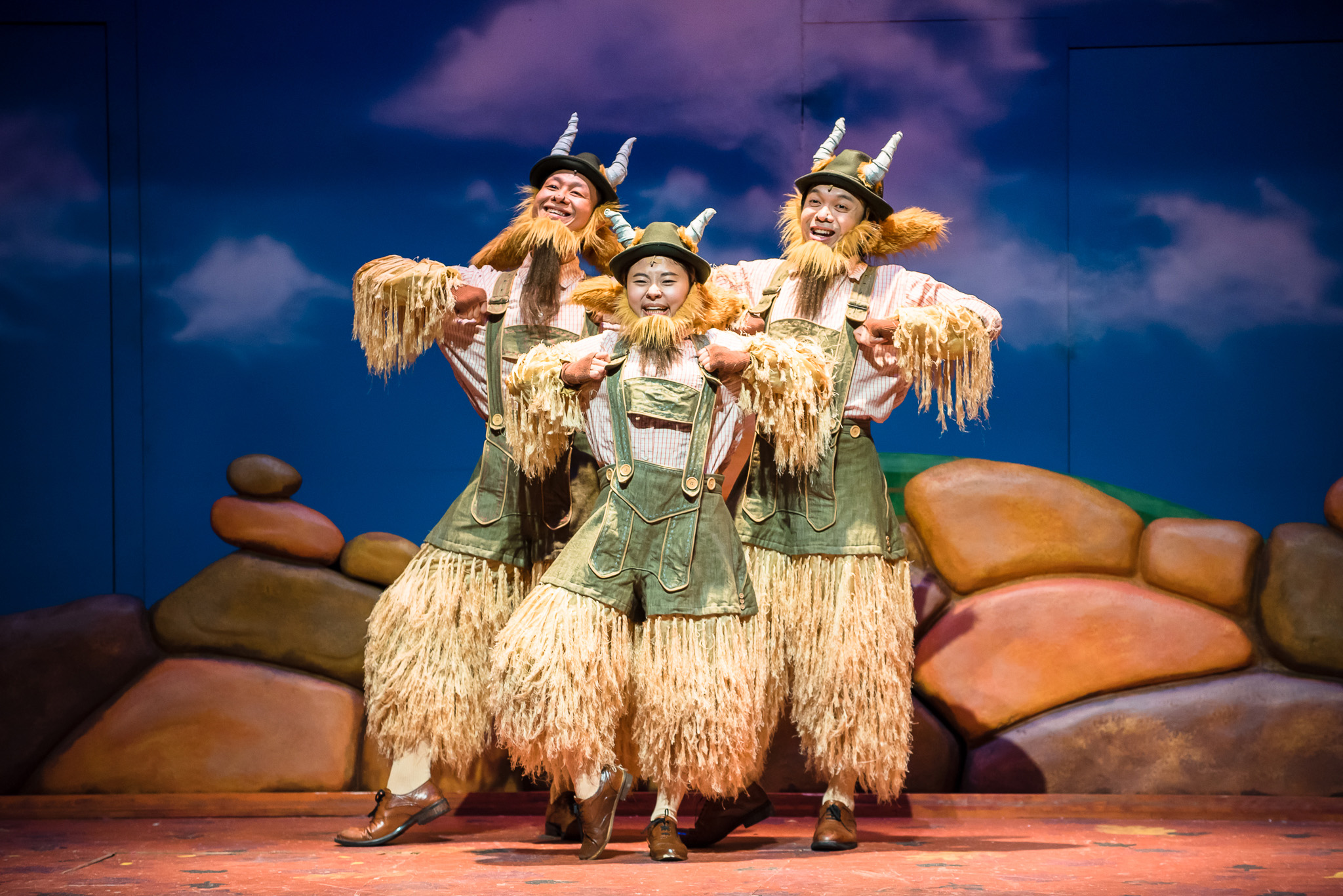 SRT's The Little Company's The Three Billy Goats Gruff 2016 - Oliver Pan... (3)