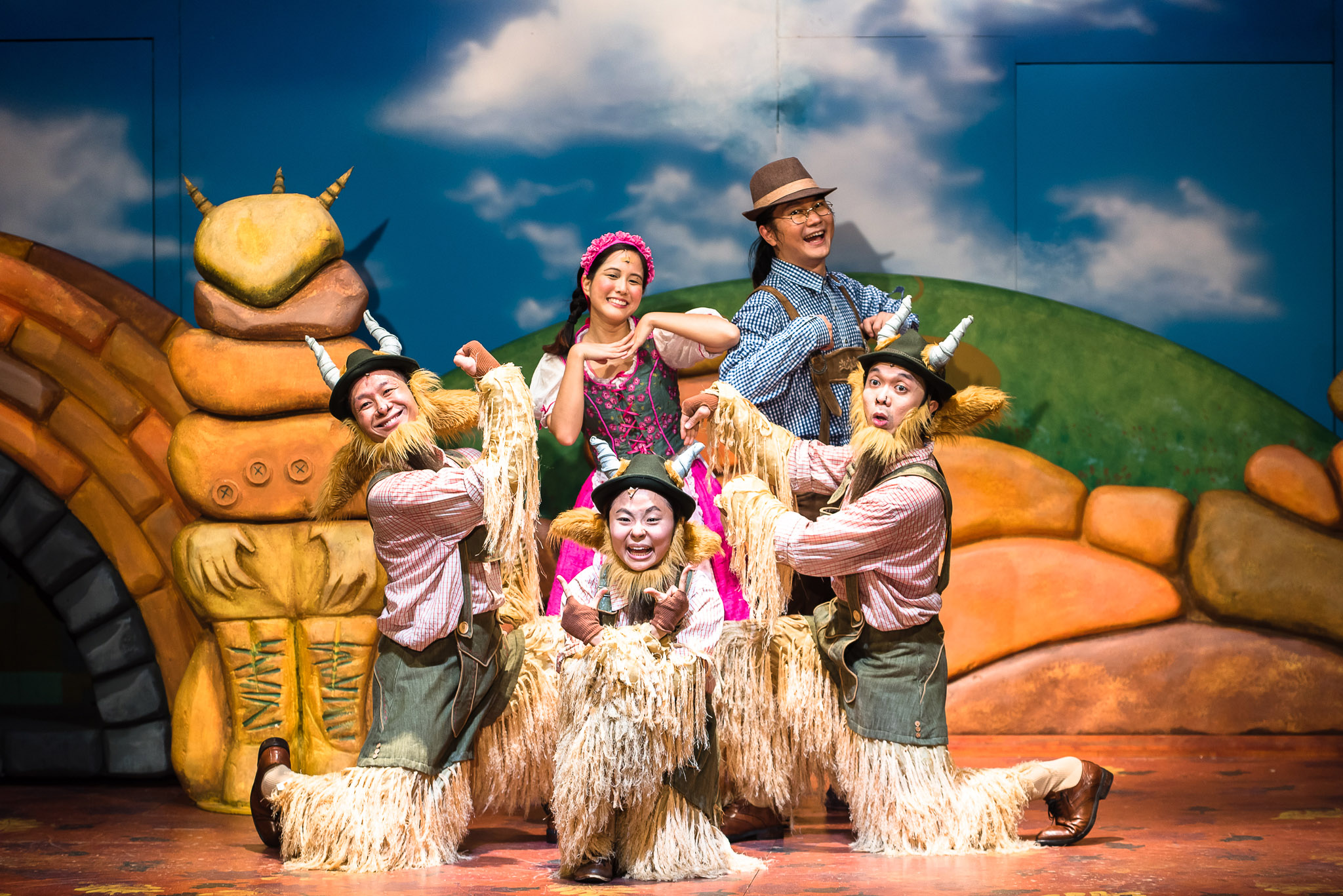 SRT's The Little Company's The Three Billy Goats Gruff 2016 - Oliver Pan.