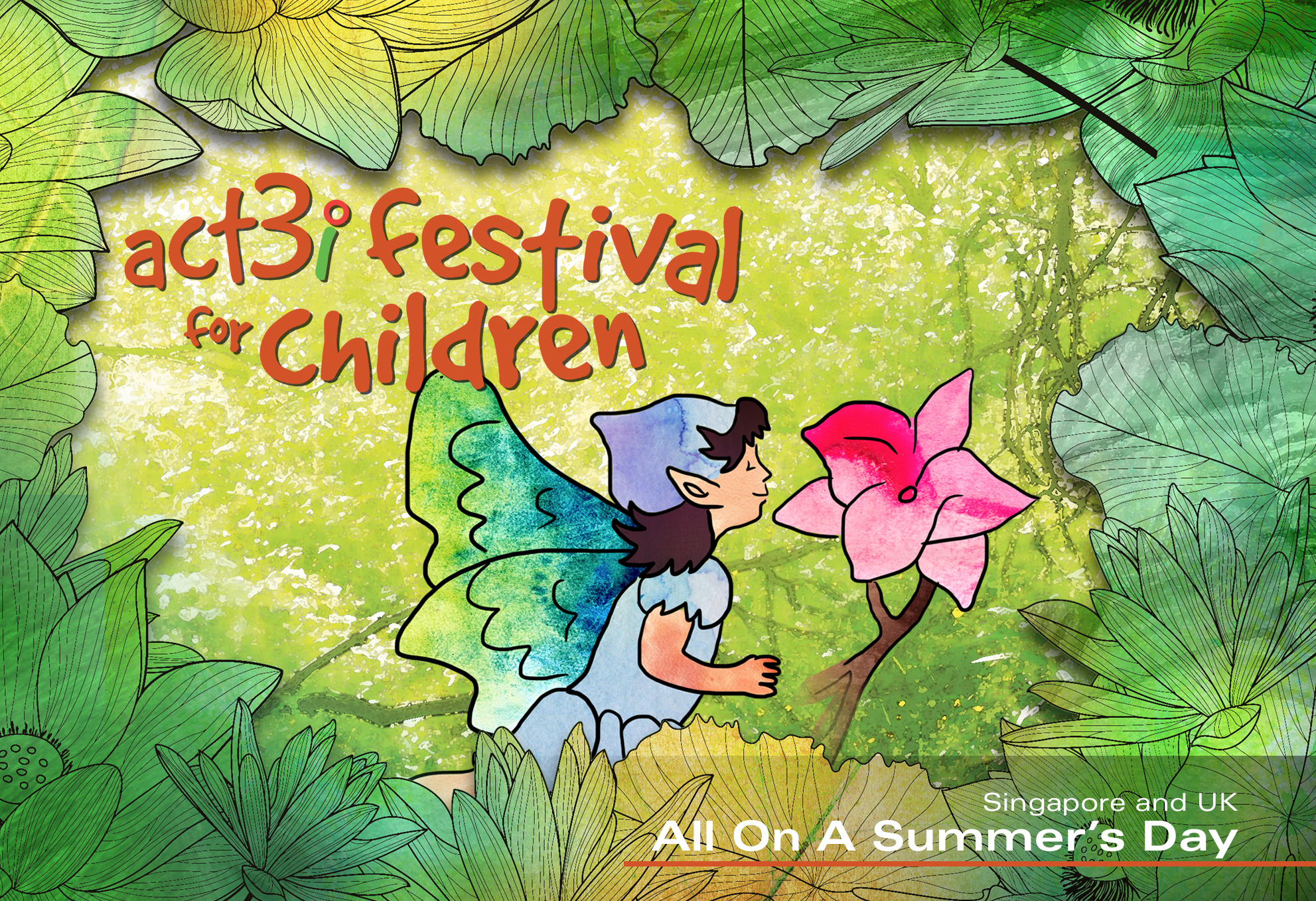 ACT 3i Festival for Children All On A Summer's Day (with logo)
