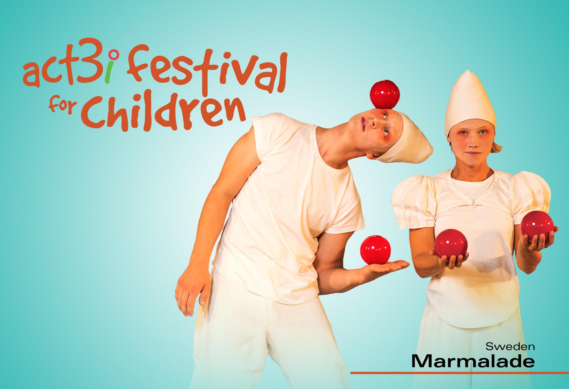 ACT 3i Festival for Children Marmalade (logo)