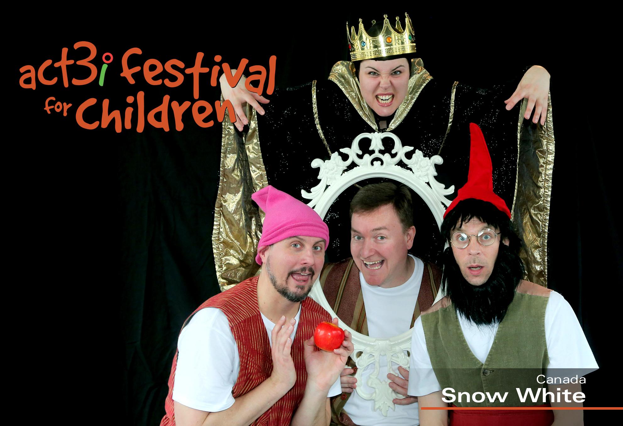 ACT 3i Festival for Children Snow White (logo) (1)