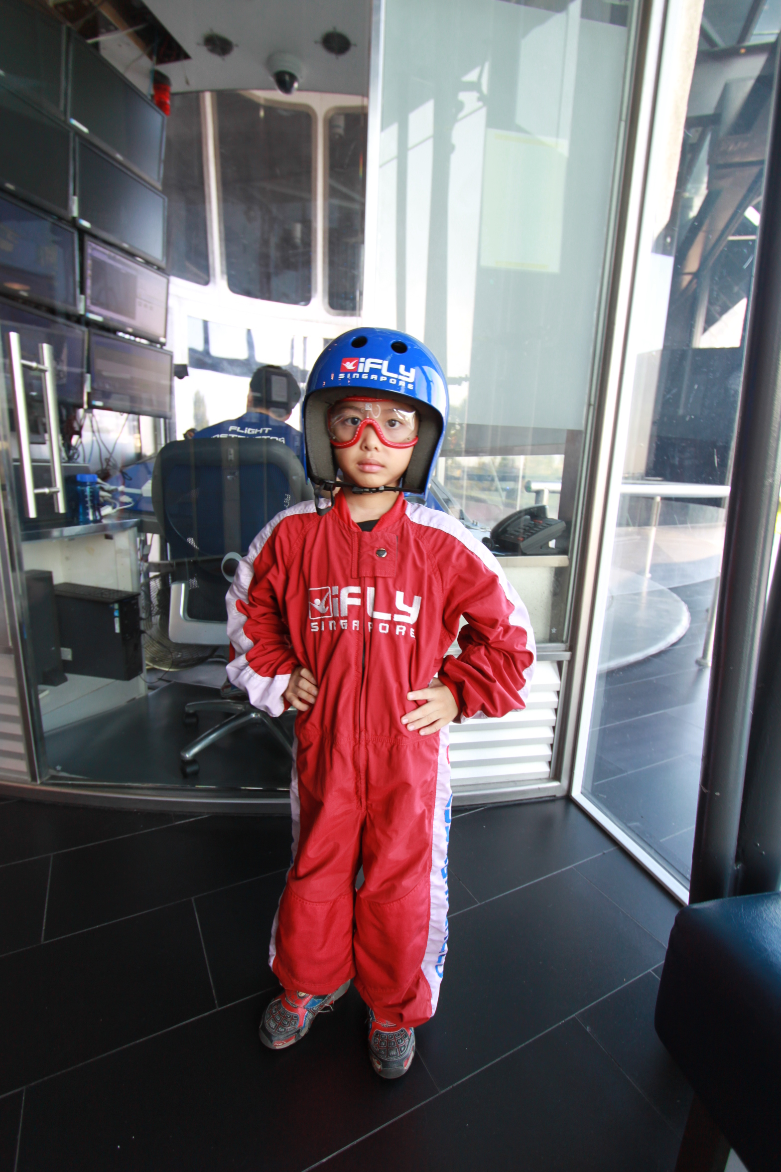 Ifly Singapore To A 7 Year Old Probably His Best And Most Wow Adult Img 6716